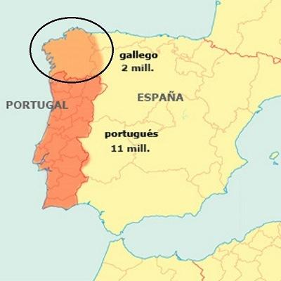 diferencia entre el gallego y el portugues