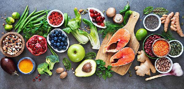 nutrientes y alimentos