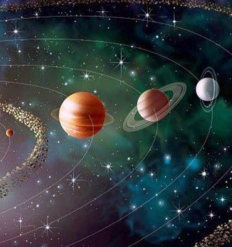 Diferencia entre planetas exteriores e interiores