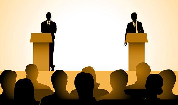 Diferencia entre mesa redonda y debate